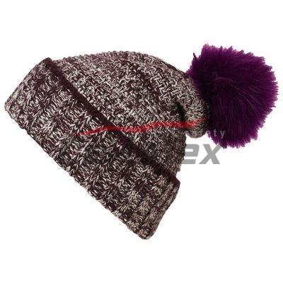 Dámska pletená melírovaná čiapka