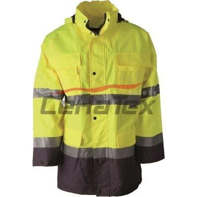 Reflexná bunda MAXWELL žltá