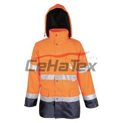 Reflexná bunda MAXWELL oranžová