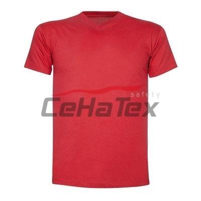 2139712e83c3 Dámske pásikavé tričko s výšivkou VAJNORY 3 - CEHATEX