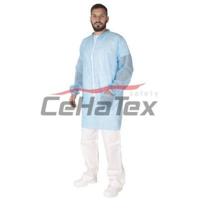 Jednorázový plášť PEPE modrý