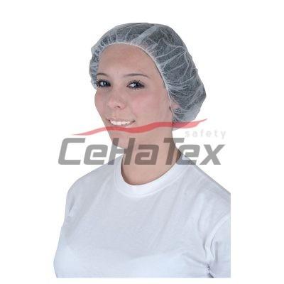 Jednorázová čapica biela