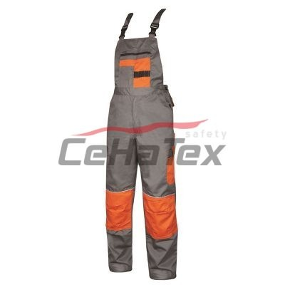Montérkové nohavice na traky H9602