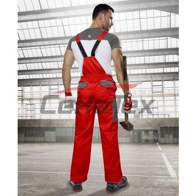 Montérkové nohavice na traky H9605