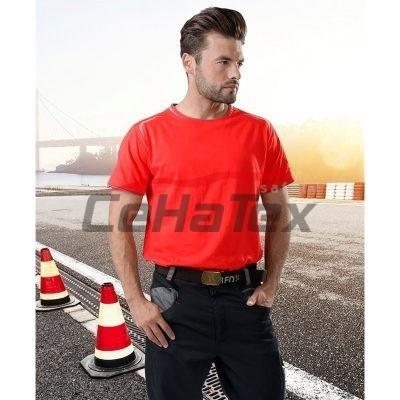 aec9eca8f138 Dámske pásikavé tričko s výšivkou DETVA - CEHATEX