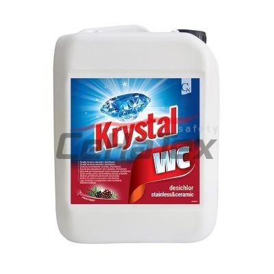 Krystal WC červený 5l