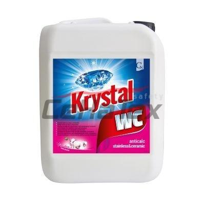 Krystal WC ružový 5l
