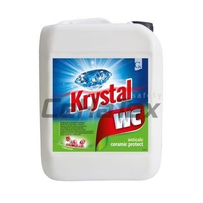Krystal WC zelený 5l