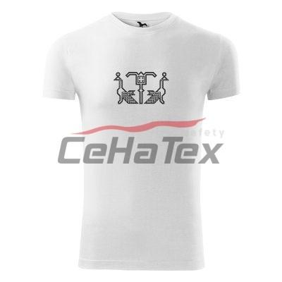Pánske tričko s výšivkou