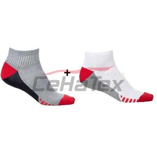 Ponožky DUO RED