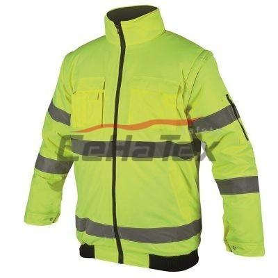 HOWARD reflexná bunda žltá