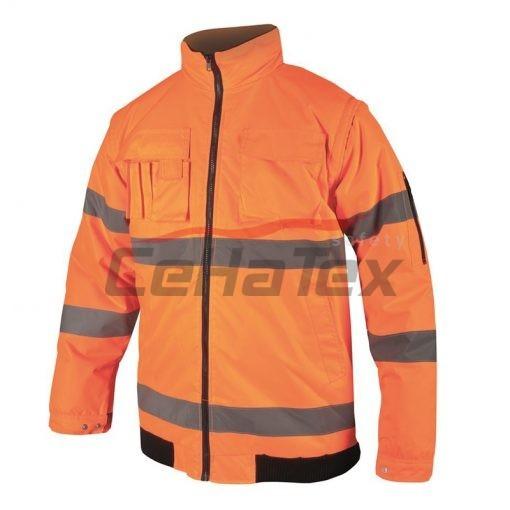HOWARD reflexná bunda oranžová