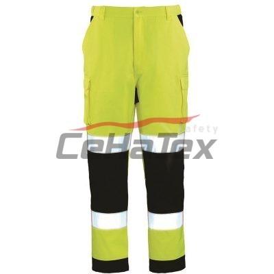 Reflexné nohavice PATROL 02 žlté