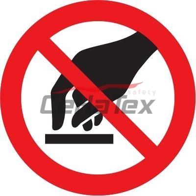 Zákaz dotýkať sa
