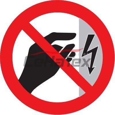 Zákaz dotýkať sa! Kryt je pod napätím