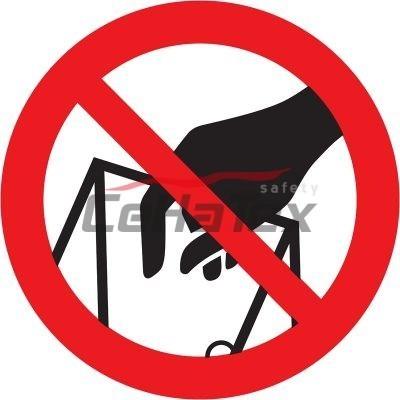 Zákaz siahania do plniaceho otvoru