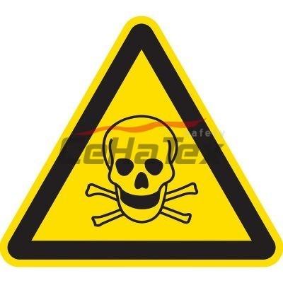 Nebezpečenstvo otravy, zadusenia