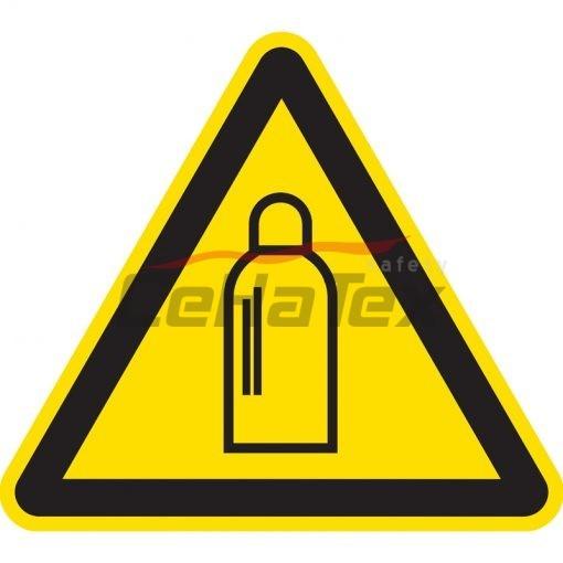 Nebezpečenstvo od tlakových nádob s plynom