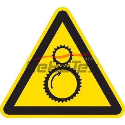 Nebezpečenstvo od chodu stroja