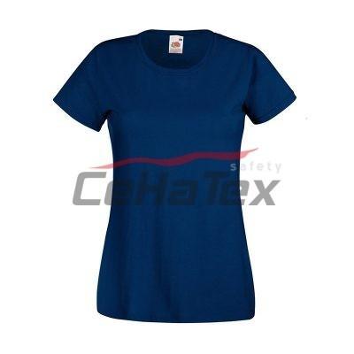 Dámske tričko námornícka modrá