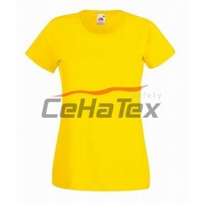 Dámske tričko žltá