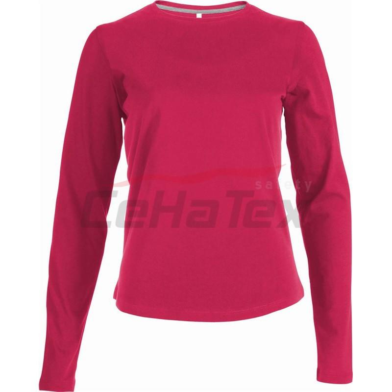 443cb55b1604 Dámske tričko s dlhým rukávom - CEHATEX