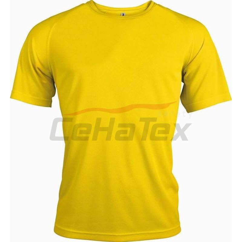 177e7a05f3aa Pánske športové tričko s krátkym rukávom - CEHATEX