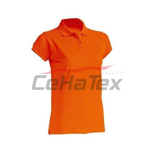 Dámska polokošeľa oranžová