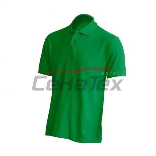 Pánska polokošeľa kelly zelená