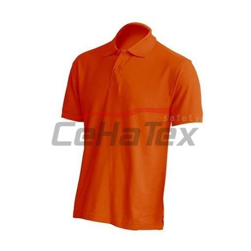 Pánska polokošeľa oranžová