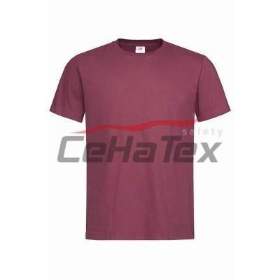 Pánske tričko burgundy