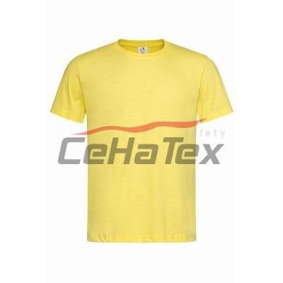 Pánske tričko žltá