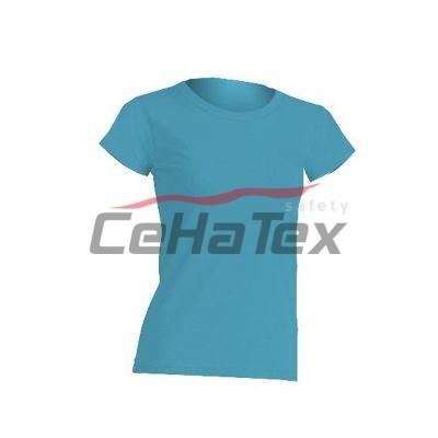Dámske tričko tyrkysová
