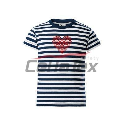 Detské tričko s výšivkou